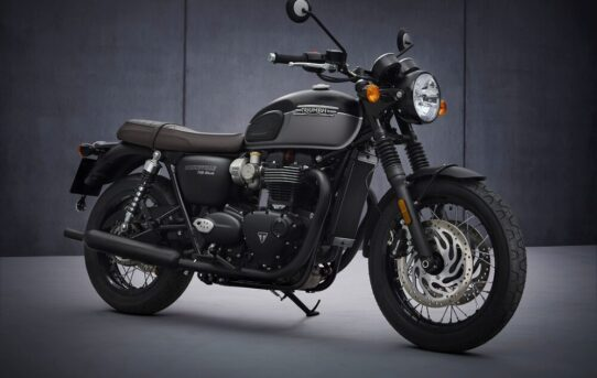 NEW Bonneville T120 Black